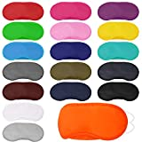 Elcoho 36 Pack Blindfold Sleep Eye Mask Cover Sleeping Mask with Nose Pad and Elastic Strap for Sleeping Travel, Team Games, Pajamas or Spa Party Supplies