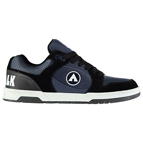 Airwalk Herren Throttle Sn CL82 Skate Sportschuhe Blau/Schwarz 43.5