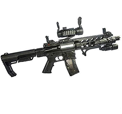 AUZZO HOME AR15 Explosión eléctrica Pistolas de Juguete Blaster Pistolas de Bala de Bola de Gel de Agua de Seguridad CS al Aire Libre Pistola de Francotirador para niños