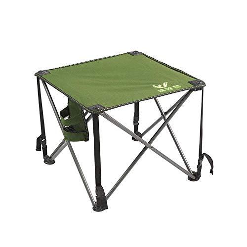 DX klaptafel outdoor draagbare vuile Oxford strandstoel outdoor tafel trompet - edelstenen zwart