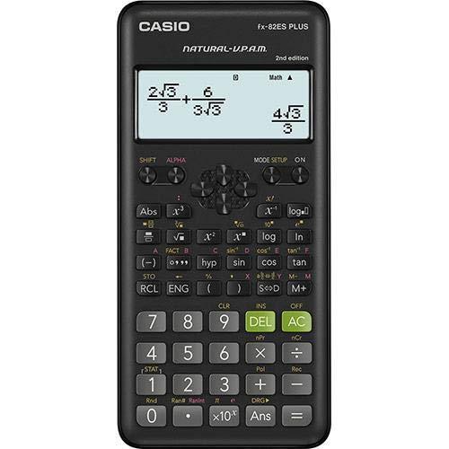 Casio Fx-82es Fx82es Plus Bk Display Scientific Calculations Calculator with 252 Functions by Casio