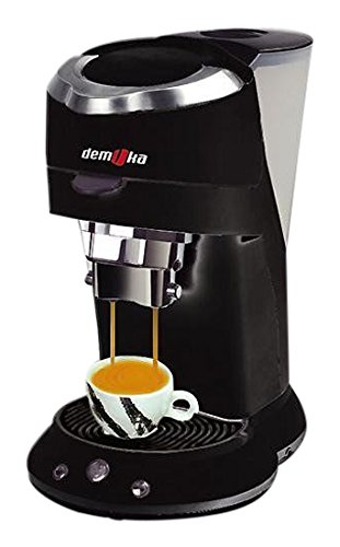 Demoka SPM-009 - Cafetera espresso, color negro: Amazon.es: Hogar
