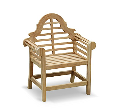 Jati Lutyens-Style Garden Armchair FULLY ASSEMBLED in Premium grade sustainable teak Brand, Quality & Value