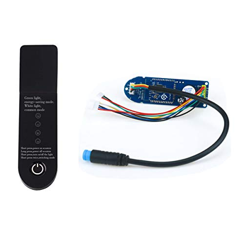 Flycoo Bluetooth circuito impreso de salpicadero para Xiaomi M365 Patinete Eléctrico Scooter Recambio Parte del Módulo Bird Panel (Tapa + Tablón)