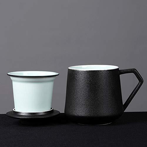 IRCATH keramische mok, grote capaciteit, watermok, beker, huishouden, paar, kop, koffiekopje, filter, theekopje