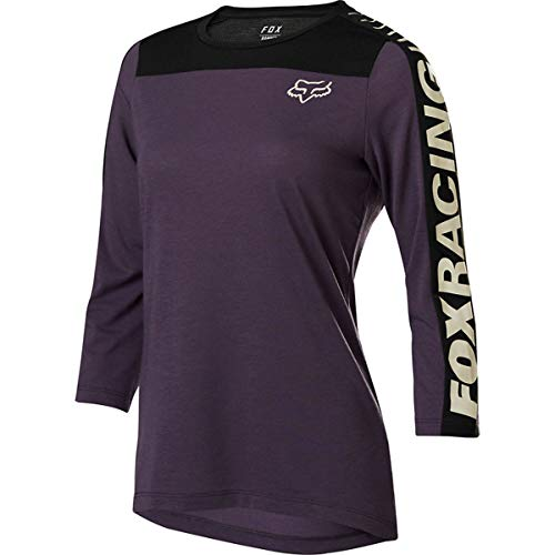 Fox Racing Ranger Dr 3/4-Sleeve Jersey - Women's Black, L