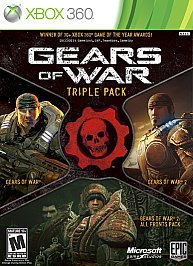 Gears Of War Bundle (gow 1/gow 2/all Fronts Pk) from