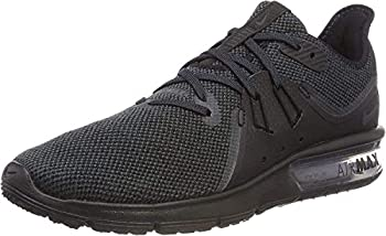 Nike Men s Air Max Sequent 3 Running Shoe Black/Anthracite Size 7 M US