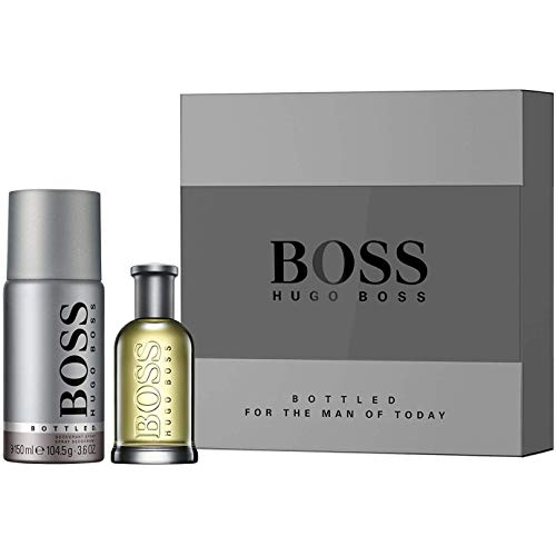 BOSS Bottled homme/man Set (Eau de Toilette (50 ml), Deodorant Spray, 150 ml)