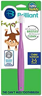 Baby Buddy 360 Toothbrush Step 2, Purple by Baby Buddy [並行輸入品]