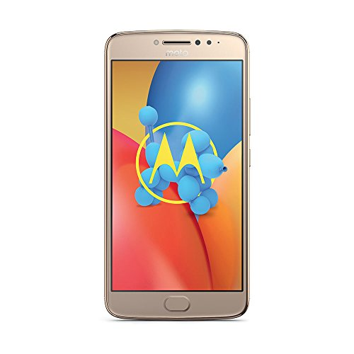 Motorola Moto E4 Plus Smartphone (13,97 cm (5,5 Zoll), 3 GB RAM/16 GB, Android) fine gold
