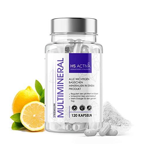 Multimineral und Mineralien Komplex - All In One Basicum | Großpackung: 250 Vegetarische Kapseln | HOHE Bioverfügbarkeit | OHNE Zusatzstoffe