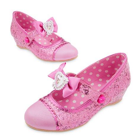 Chaussures Roselia Les Fées Costume rose Minnie Mouse Chaussures Uk Size enfants / enfants Taille 7-8 / UE 24-26