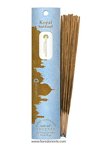 Kopal Traditional Incense – Honey & Hand Rolled – 10sticks Fleur d'Orient