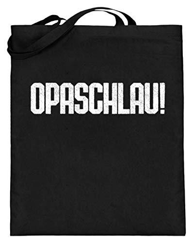 Chorchester Opaschlau voor iedere opa en grootvader - jute zak (met lange handvatten)
