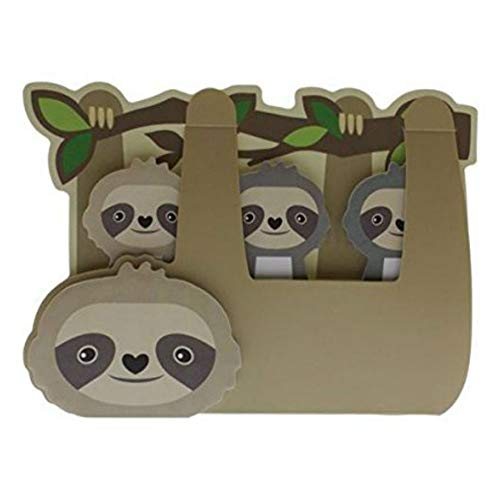 Streamline Sloth Sticky Memo Tab Set