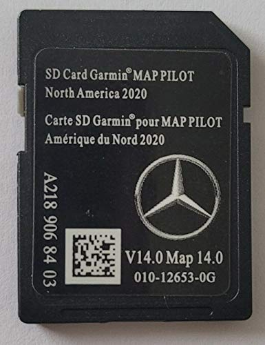 2020-2021 Map Pilot V14 Mercedes-Benz SD Card MAP A2189068403 with Anti Fog Rearview Mirror Sticker Included