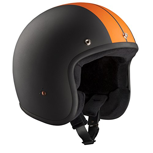 Bandit Helmets Motorradhelm ECE Jet, ECE 22-05 geprüfter Jethelm in kleiner Bauweise,Größe:ECE-XL(60);Farbe:ECE Race