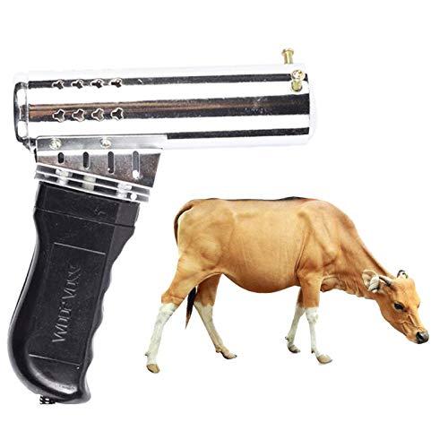 FANGCHENG Dispositivo de calefacción para Mascotas. Cabeza de Ganado descornador Rifle de Aire de Tipo Fast Calefacción ovejas sin Sangre Animal Cabeza de Tipo Pistola Farm Supplies Vaca Herramientas