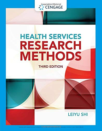 Compare Textbook Prices for Health Services Research Methods 3 Edition ISBN 9781133949671 by Shi, Leiyu