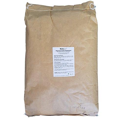 Rekosan ® Magnesiumsulfat,Bittersalz, Epsom Salz, Lebensmittel-/Pharmaqualität 25 kg