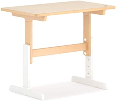 Children's Study Table Childrens Kids Nursery Play Table Solid Wood Children's Study Table Can Be Lifted Desk Simple Square Table Boy and Girl Study Table (Color : Natural, Size : Free Size)