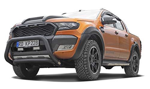 Schwarz matter Kühlergrill Kühlergrillblende - passend für Modell Wildtrak, Limited, XL, XLT jeweils (2016-2018)