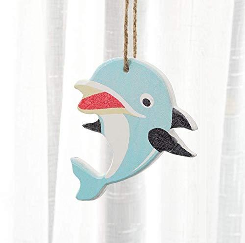 Shovv Decoratie keramische hars maritieme stijl ornament marine winkel muur decoratie Starfish vis kledingwinkel muur decoratie hanger muur kamer creatief