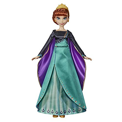 Disney Frozen Musical Adventure Anna Singing Doll, Sings Some Things Never Change Song from 2 Movie, Anna Toy for Kids
