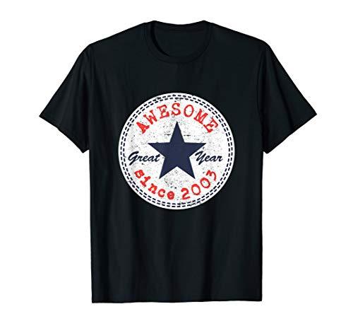 Fantastisch seit 2003 17. Geburtstag Geschenke 17 Jahre alt T-Shirt