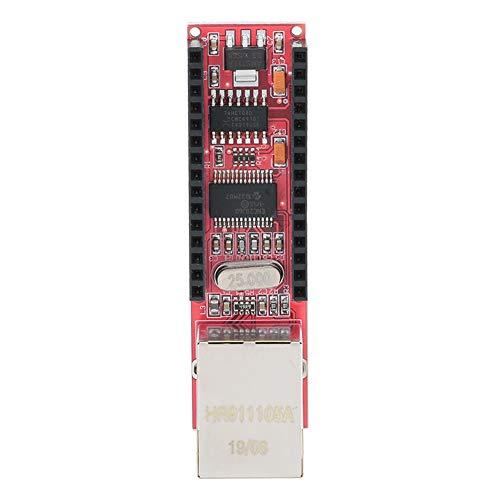Dpofirs ENC28J60 Nano Ethermet Shield für Arduino Nano Board, V1.0 Network Module Board, Mikrochip ENC28J60 Ethernet / HR911105A Controller