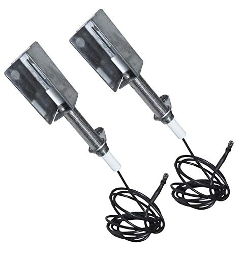 BBQ Future 2-Pcs Grill Ceramic Igniter Electrode Replacement for Select Kenmore Gas Grill Models, Replacement Parts for Kenmore 146.23674310, 146.33585410 Grill Igniters