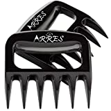 THE REAL DEAL: Accept no substitutes and choose the best pulled pork shredder claws on the market. Made of heavy duty durable BPA free plastic material that withstands high heat (heat resistant to 450F/250C). COOK LIKE A MasterChef: These bear claws ...