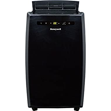 Honeywell Portable Air Conditioner with Dehumidifier & Fan for Rooms Up To 550 Sq. Ft. with Remote Control in Black
