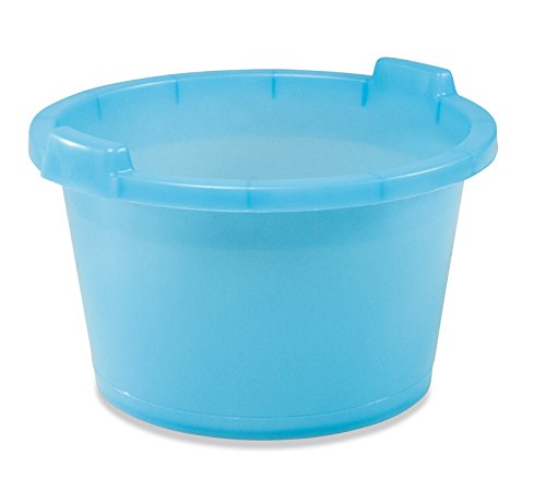 PLASTIME poco bañera, Azul, 42cm, 55litros