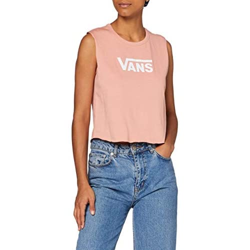 Vans Flying V Classic Muscle T-Shirt, Rose Dawn, M Donna