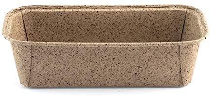 H&H Cacao. Molde para Hornear en Cartón Biodegradable y Compostable de tamaño 10 x 6 cm en Color Kraft. Cada Paquete Contiene 6 moldes