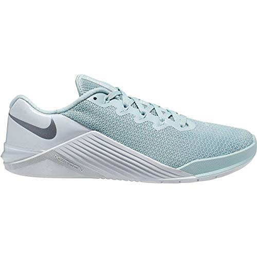 Nike Women's Metcon 5 Track & Field Shoes, Multicolour (Ocean Cube/MTLC Cool Grey/Pure Platinum 303), 5.5 UK