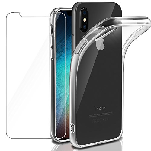 CELLULAR LINE Cover rigida con bordo in gomma - iPhone X