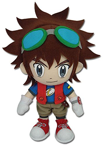 GE Animation Great Eastern Digimon Digital Monsters Mikey Kudo Stuffed Plush, 9""