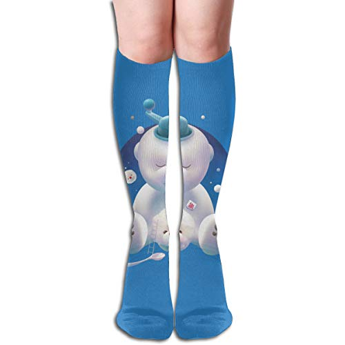 Bichon Ice Shaver Socks for Women & Men- Best for Running, Athletic, Flight and Travel