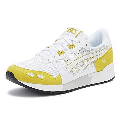 ASICS Gel-Lyte Herren Weiß/Mustard Sneakers-UK 9 / EU 44