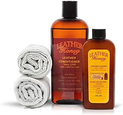 Leather Honey Complete Leather Care Kit Including...