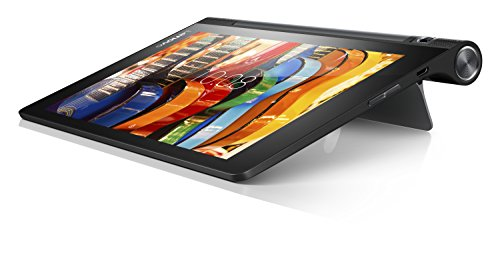 Lenovo Yoga Tab 3 8' Tablet (APQ8009 Quad Core 1.3 GHz Procesador, 1280 x 800 IPS Display, 1 GB RAM, 16 GB de memoria interna, 8 MP cámara giratoria, Android 5.1) - Negro