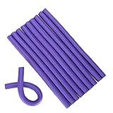 Spiral Twist Bigodini Spongia torsione della gomma piuma Riccioli fai da te Hair Styling Rulli flessibile Curling Rods saloni Strumenti (2 cm) di parrucchiere Strumento