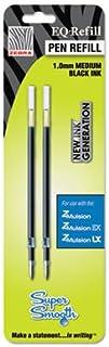 Z-Mulsion Pen Refills, 1.0mm, 2/PK, Black, Sold as 1 Package