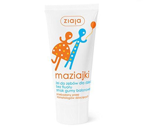 ZIAJA - Maziajki Zahngel für Kinder – 50 ml