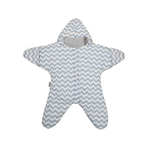 Sac de couchage bébé hugs star coton rembourré bébé hug-Blue (printemps et automne) de dormir saco de dormir