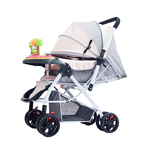 Fantastic Deal! DSAEFG 2 in 1 Convertible Baby Stroller, with 5-Point Safety System and Multi Positi...