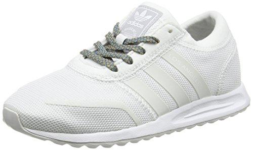 adidas Los Angeles, Botines Unisex Niños, Blanco (FTWR White/FTWR White/FTWR White), 30 EU